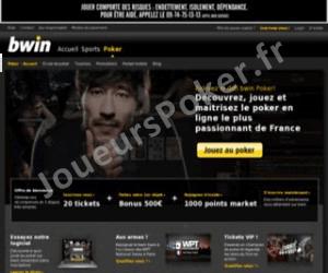Bwin Poker Accueil