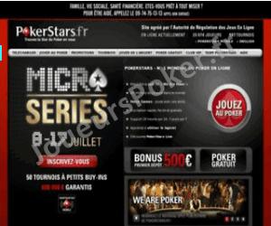 PokerStars Accueil