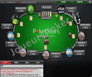 PokerStars Table