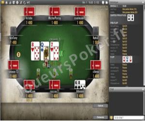 Winamax Poker Table